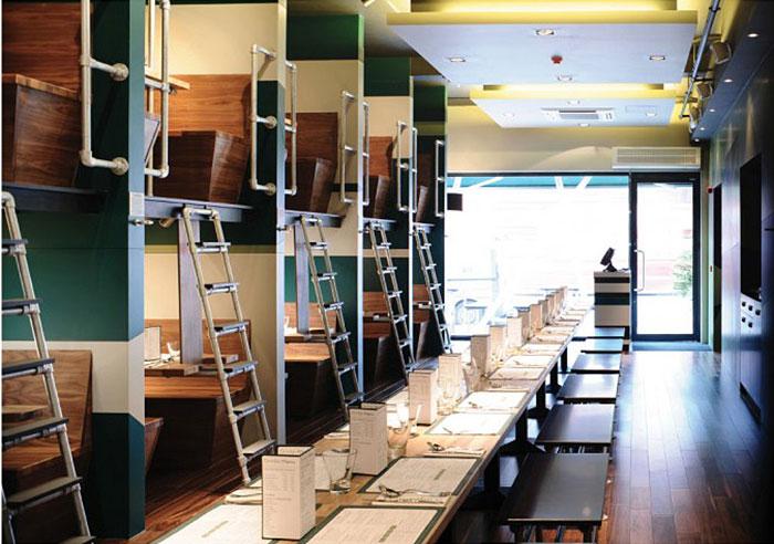 20 лучших интерьеров ресторанов и баров в мире-77