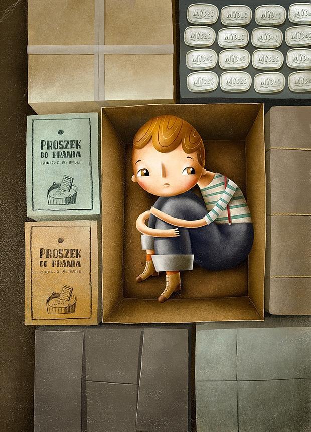 Детские иллюстрации Мацея Шимановича