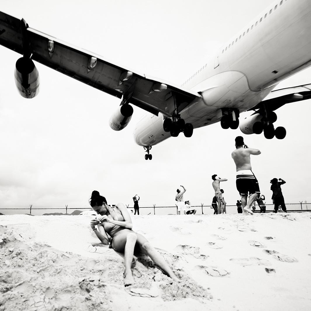 Безумная посадка самолётов на острове Сен-Мартен_04