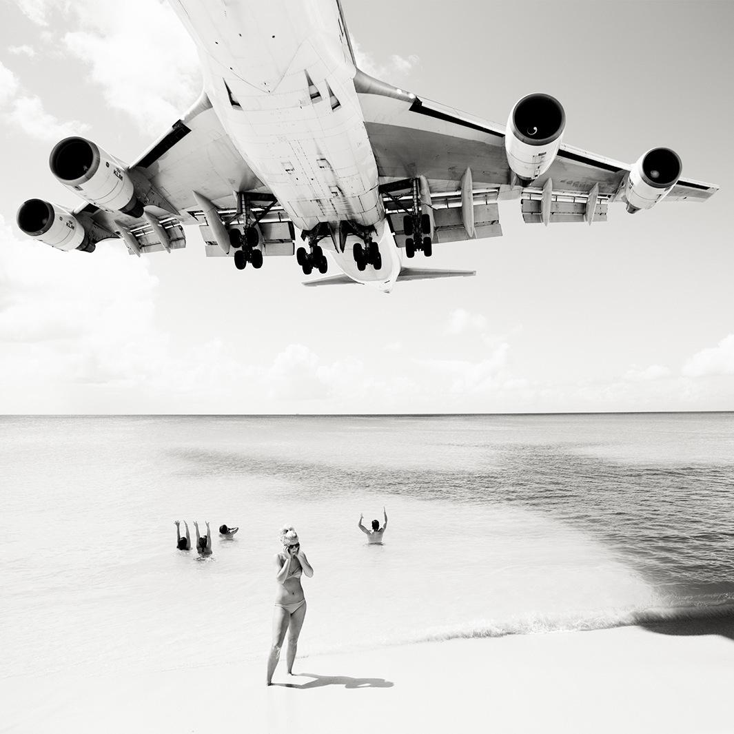 Безумная посадка самолётов на острове Сен-Мартен_61