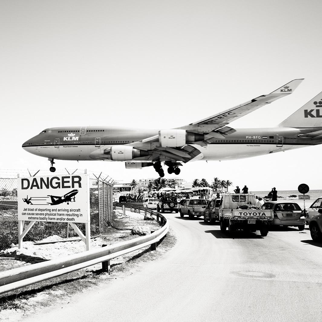 Безумная посадка самолётов на острове Сен-Мартен_29