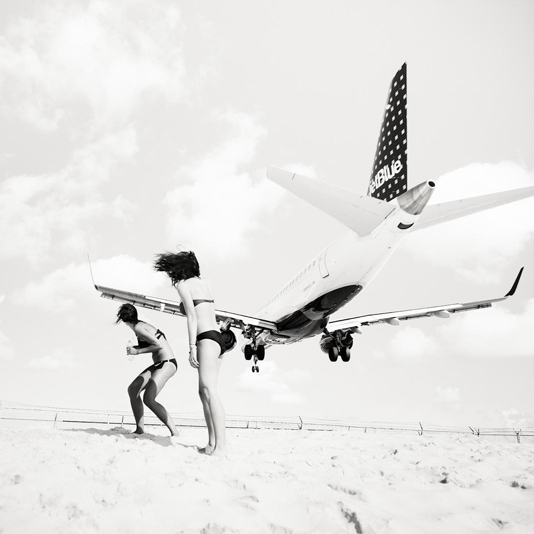 Безумная посадка самолётов на острове Сен-Мартен_69