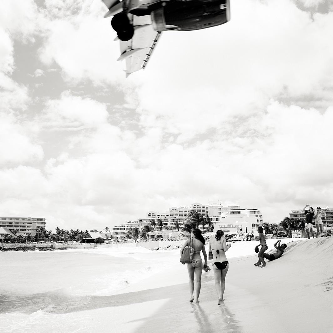 Безумная посадка самолётов на острове Сен-Мартен_59