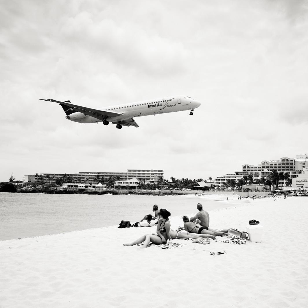 Безумная посадка самолётов на острове Сен-Мартен_67