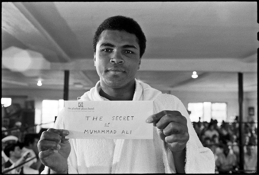 «Секрет Мохаммеда Али» - уникальные фотографии с тренировок перед «боем века»_
