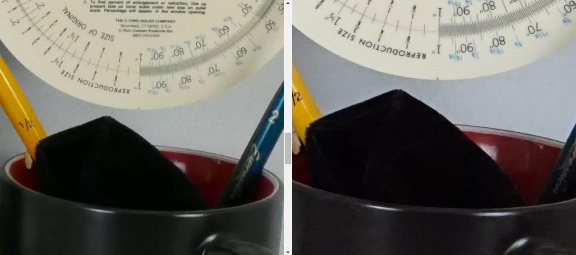 Сравнение изображений panasonic lx100 и sony