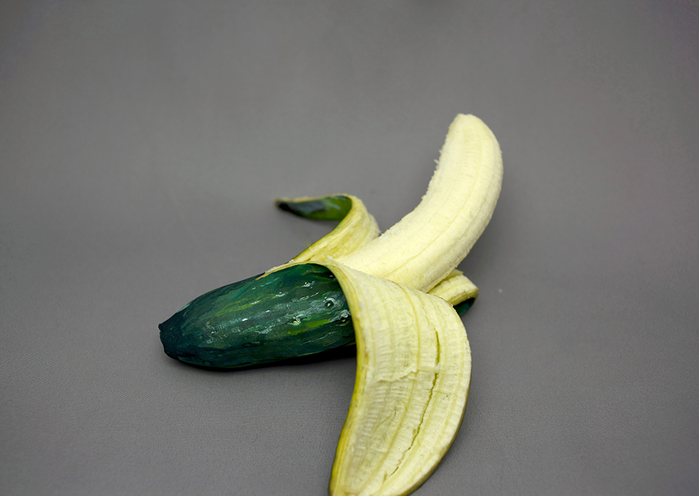 Artist Paints Common Foods to Disguise them as Other Foods