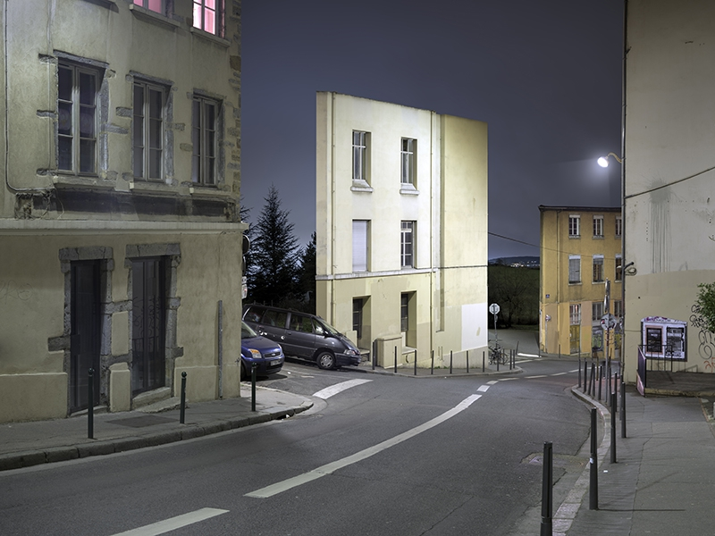 Isolated Building Facades by Zacharie Gaudrillot-Roy