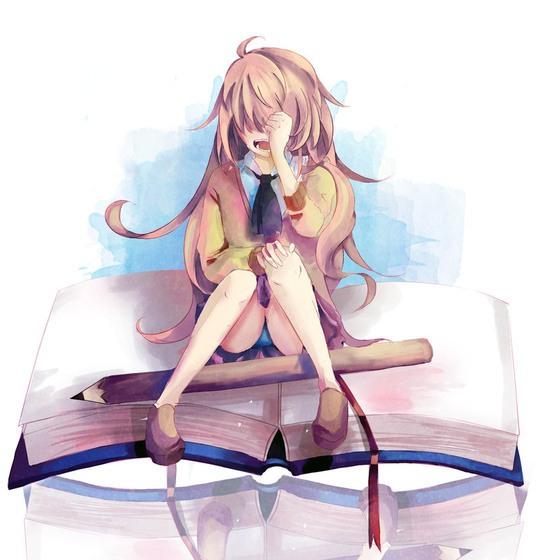 Иллюстрации в стиле манга от K-Eikun