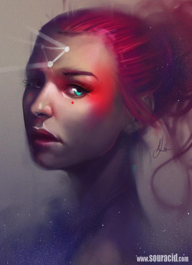 Цифровое искусство от Карла Лайвсиджа