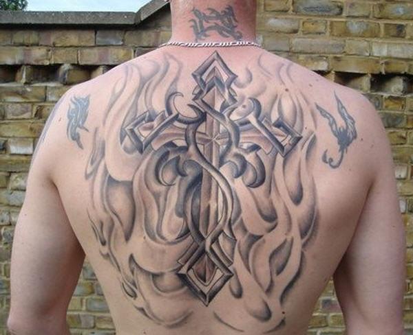 Тату кельтский крест - 34 фотографии