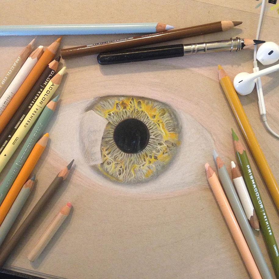 Как сделать фото цветными карандашами 315