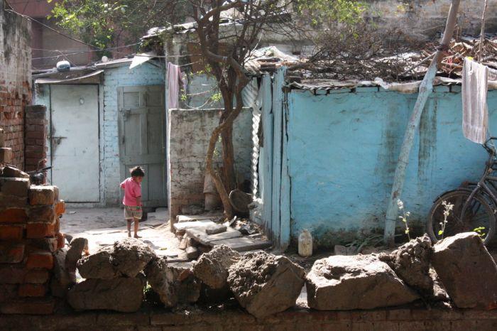 Грязнейшие трущобы Индии - 55 фотографий