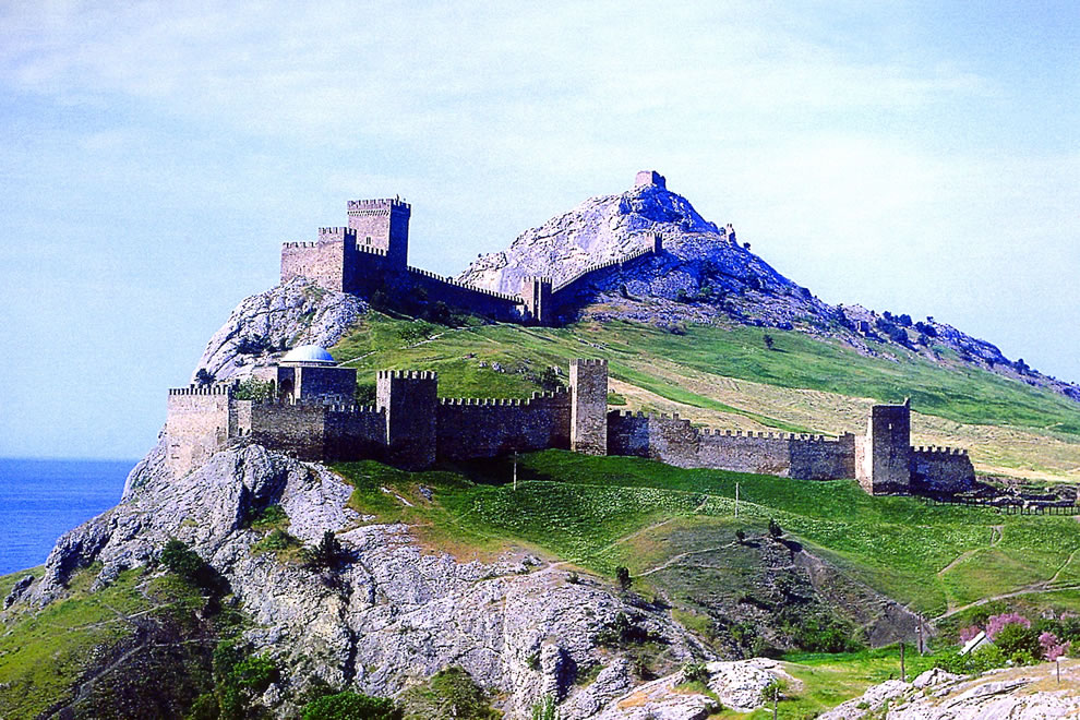 Sudak Fortress, Krym
