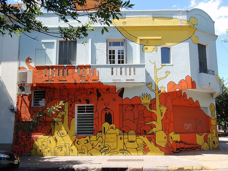 Потрясающие произведения уличного искусства из 20-ти городов мира
