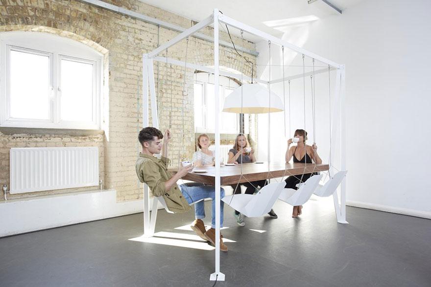 Самый креативный дизайн стола - 15 потрясающих примеров-5