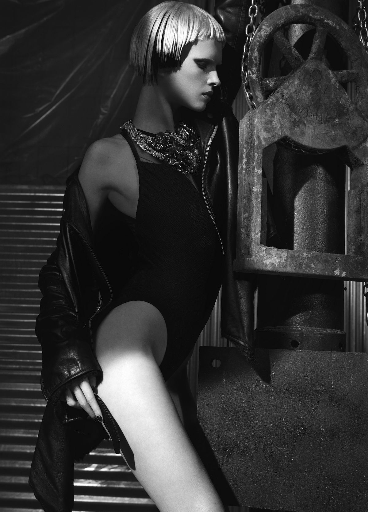 Эксцентричная фотосессия Алены Субботиной. Фотограф Кай Зи Фенг