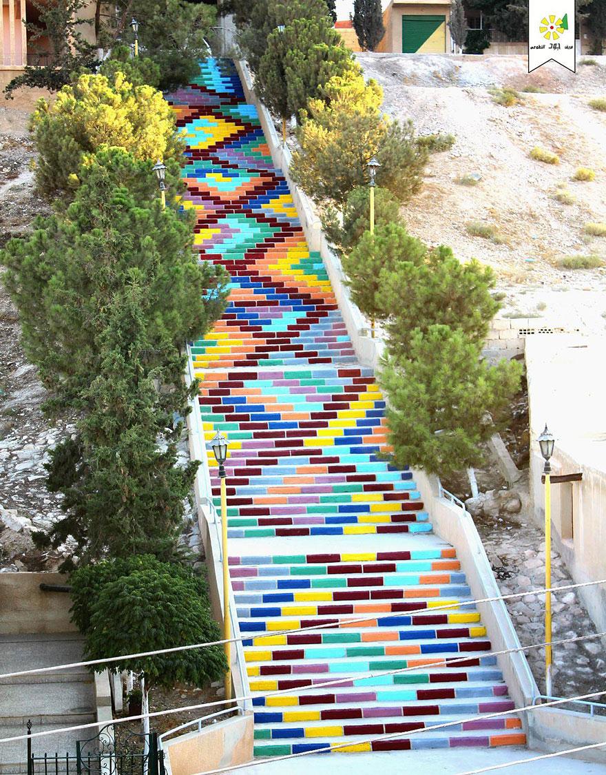 Самые красивые лестницы в уличном искусстве-16-1.