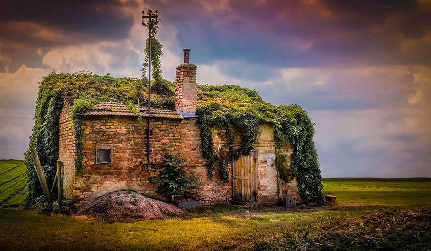 Заброшенный дом, Австрия