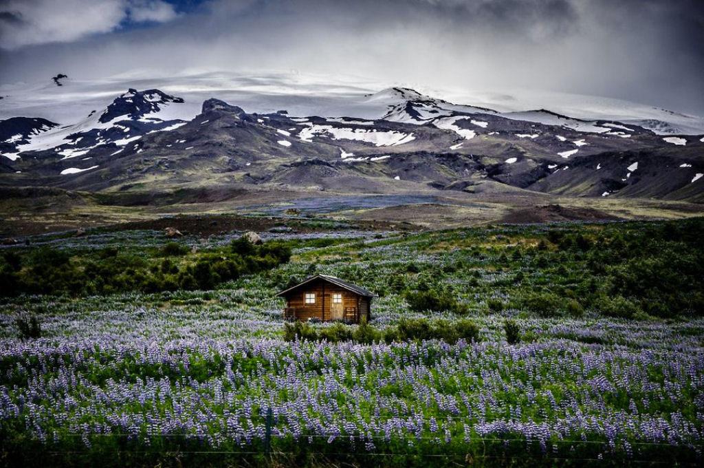 В горах Исландии
