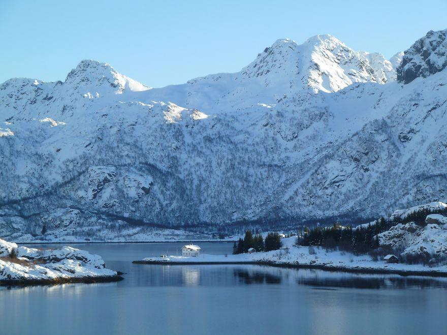 Дом во фьорде, Норвегия