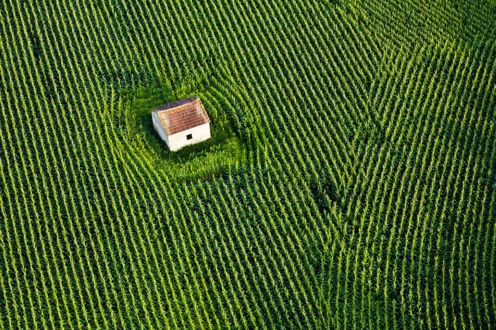 Дом в поле, Франция