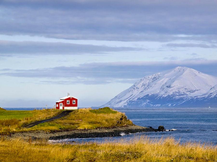 Красный дом, Исландия