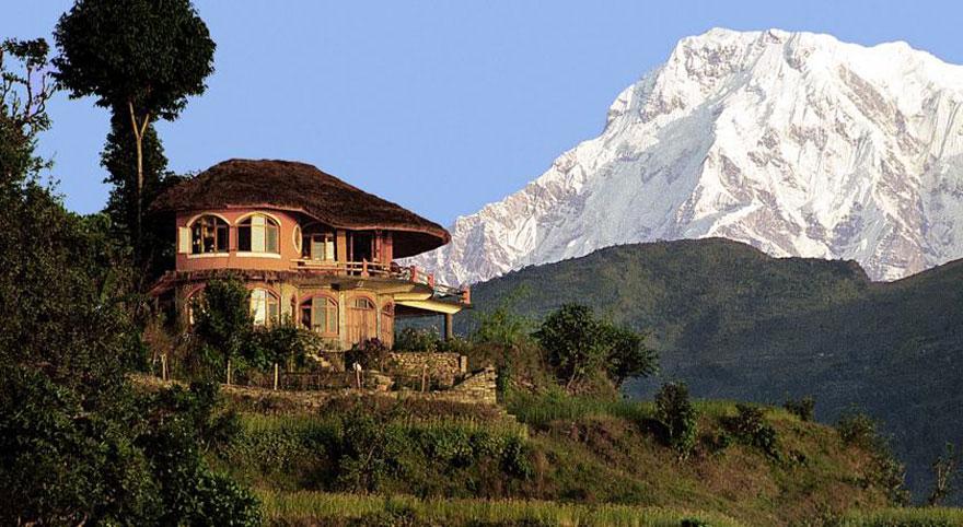 Дом с видом на Гималаи, Непал