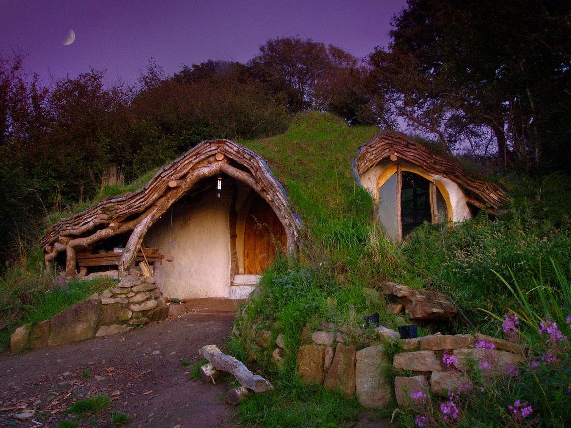 Дом Хоббитов в Уэльсе