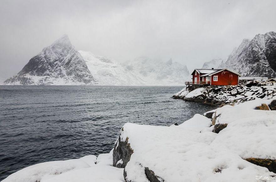 Красный дом, Норвегия