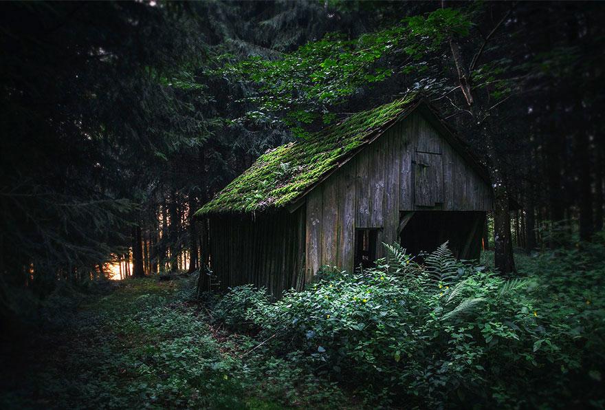 Секретное место, Альпы, Германия