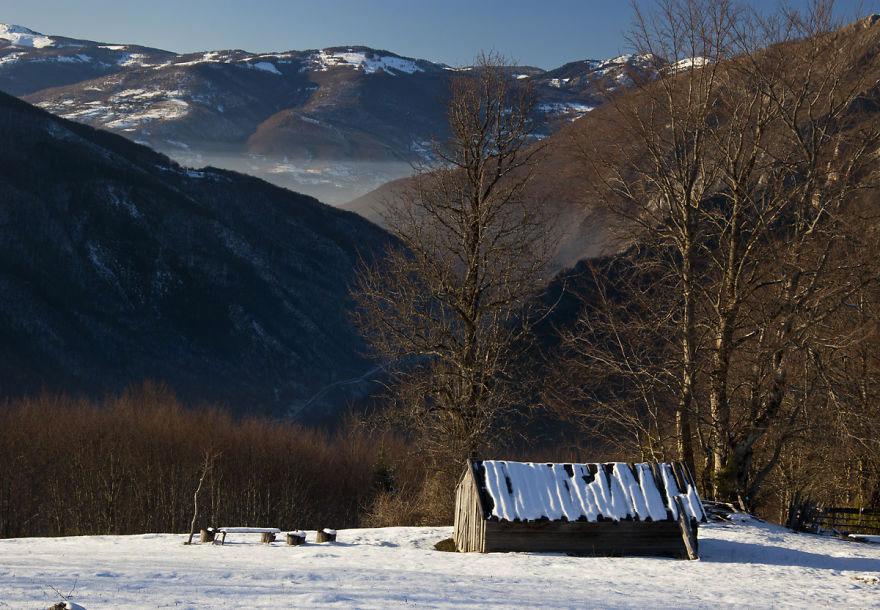 Хижина пастуха, Черногория