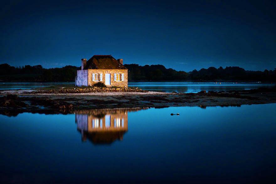 Дом в Сент-Кадо, Франции