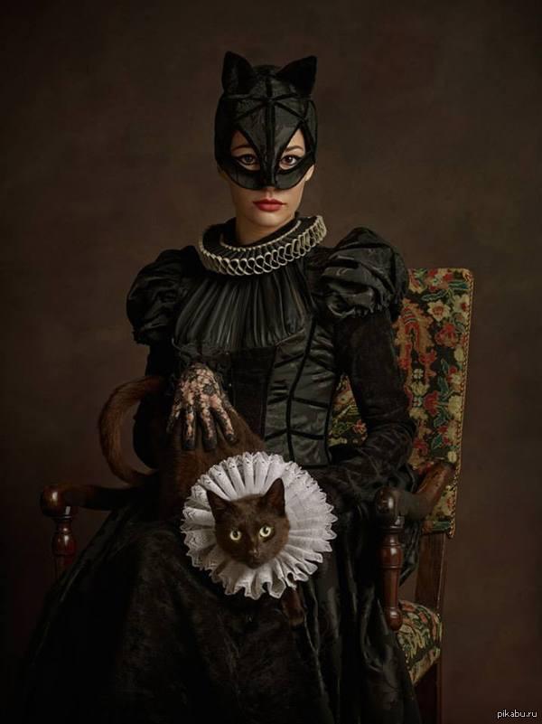Саша Голдберг представил популярных супергероев в Елизаветинскую эпоху - 2