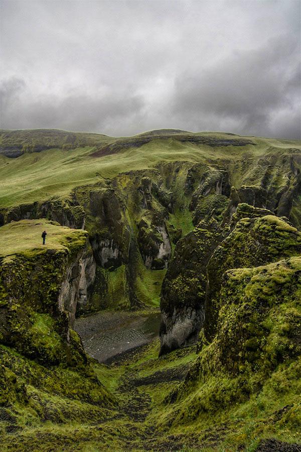 Фьядрарглйуфур в Исландии