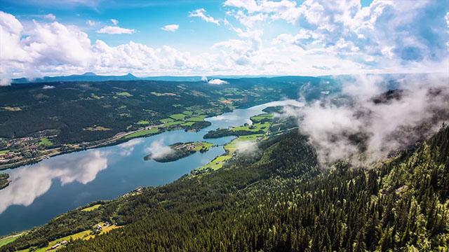 Видео «Норвегия» - самое красивое путешествие по северному королевству3