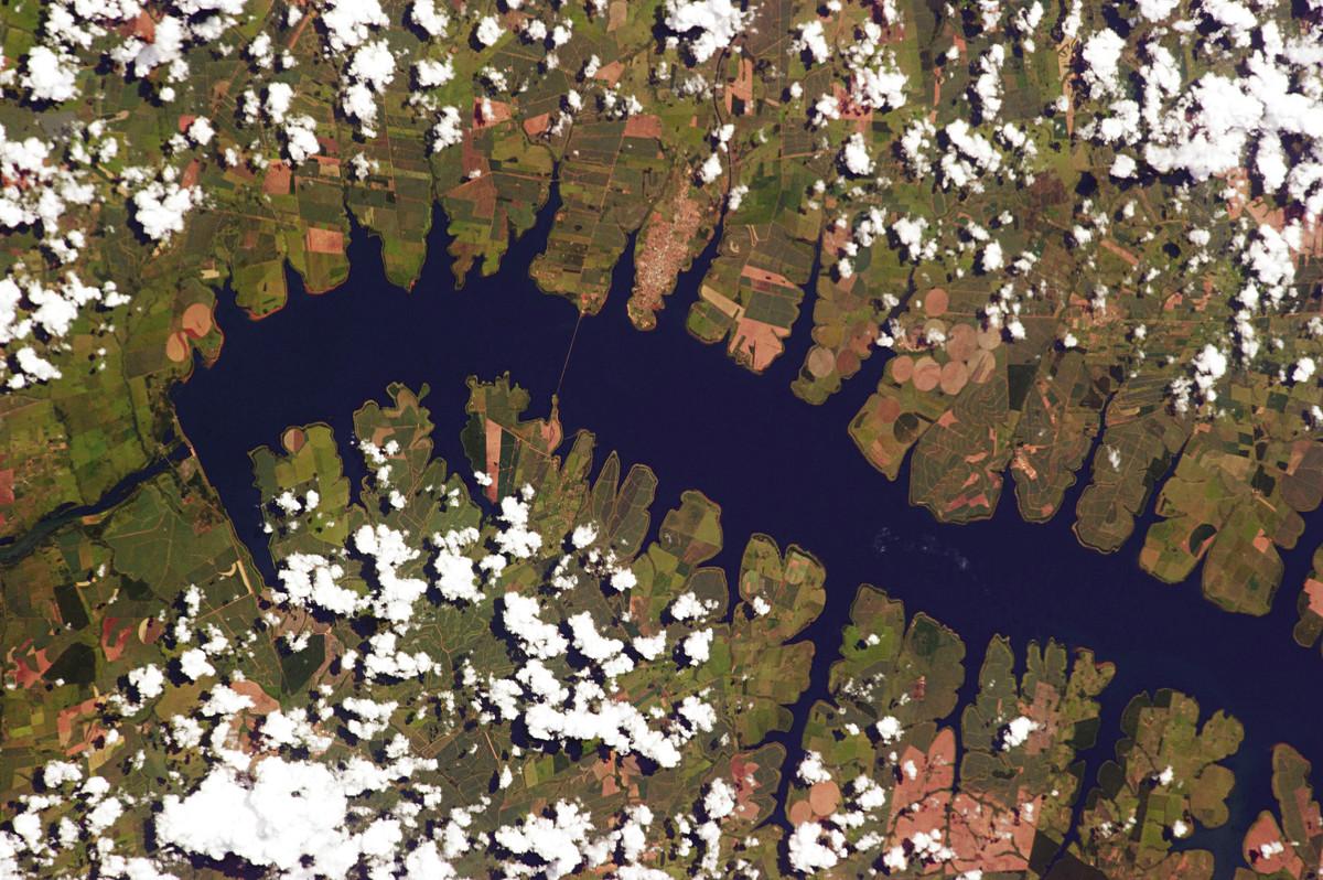 Земля из космоса - потрясающие фотографии от Криса Хэдфилда