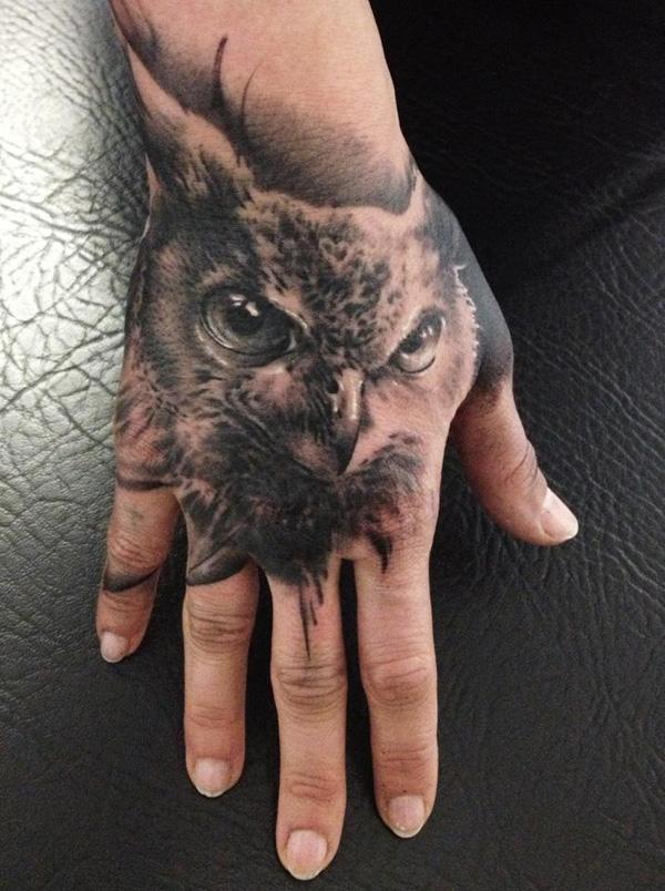 Что значит тату сова на руке