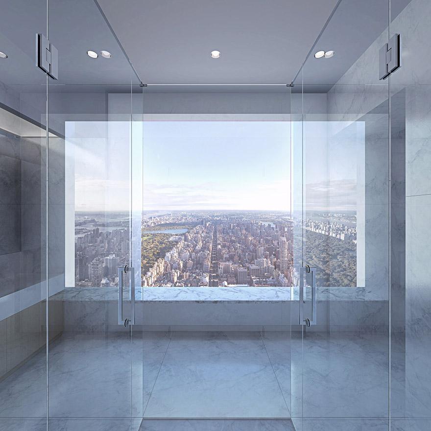 Каково это - жить в пентхаусе стоимость 95 млн долларов с видом на весь Нью-Йорк-5