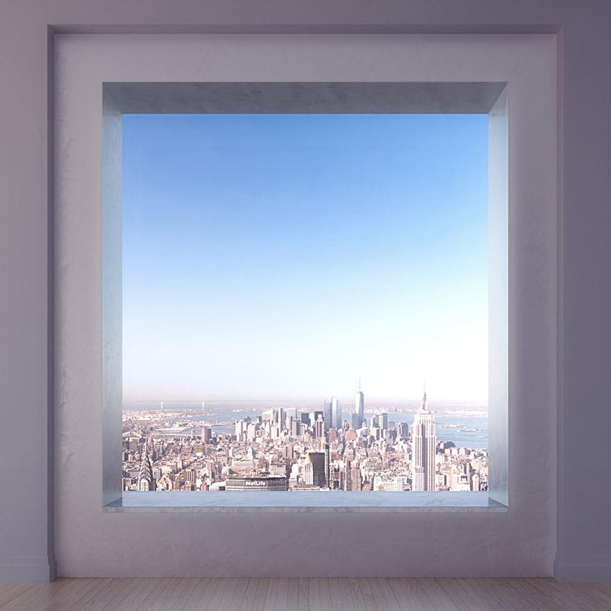 Каково это - жить в пентхаусе стоимость 95 млн долларов с видом на весь Нью-Йорк-3