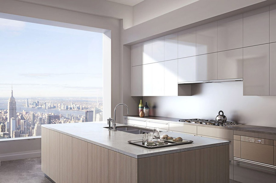 Каково это - жить в пентхаусе стоимость 95 млн долларов с видом на весь Нью-Йорк-4