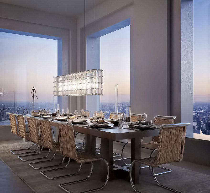 Каково это - жить в пентхаусе стоимость 95 млн долларов с видом на весь Нью-Йорк-1
