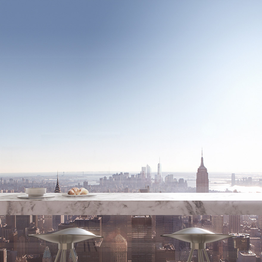Каково это - жить в пентхаусе стоимость 95 млн долларов с видом на весь Нью-Йорк-10