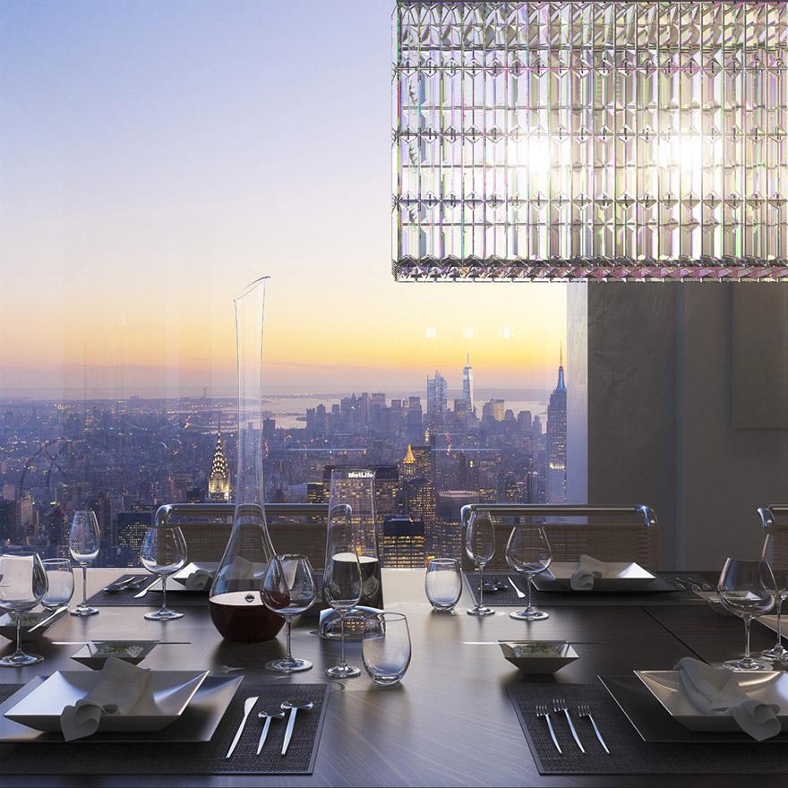 Каково это - жить в пентхаусе стоимость 95 млн долларов с видом на весь Нью-Йорк-2