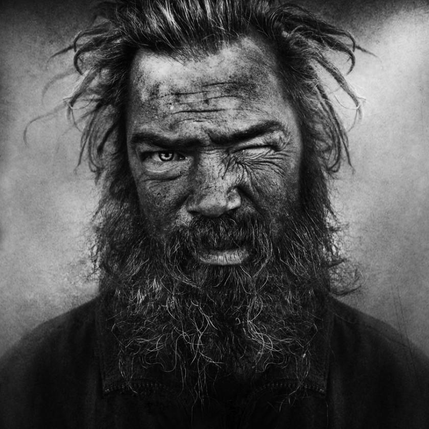 «Бездомные»- портреты Ли Джеффриса