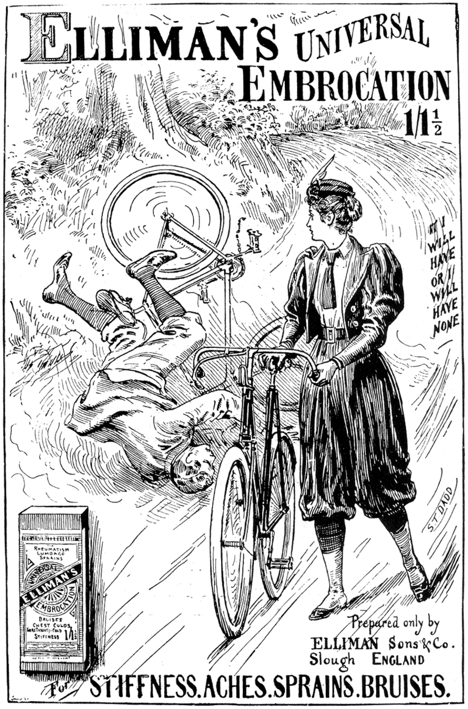 Рекламный плакат, 1897
