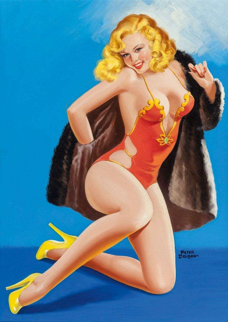 1950: Люди осознают, что сексуальный посыл продвигает торговлю