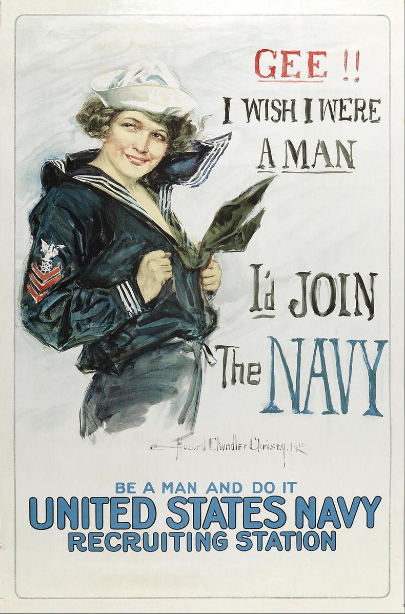 1917: Пропаганда и пин-ап