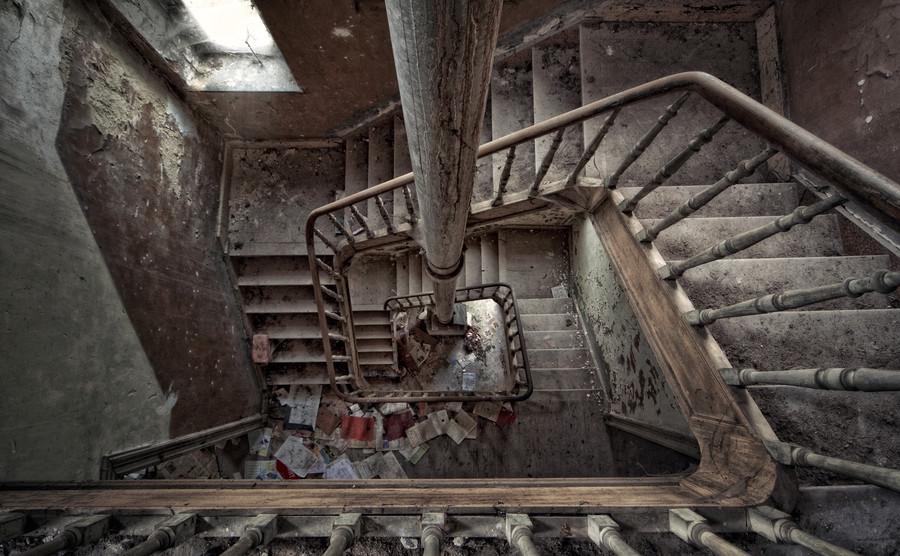 Заброшенные места, от которых мурашки по коже - 30 фотографий - 29