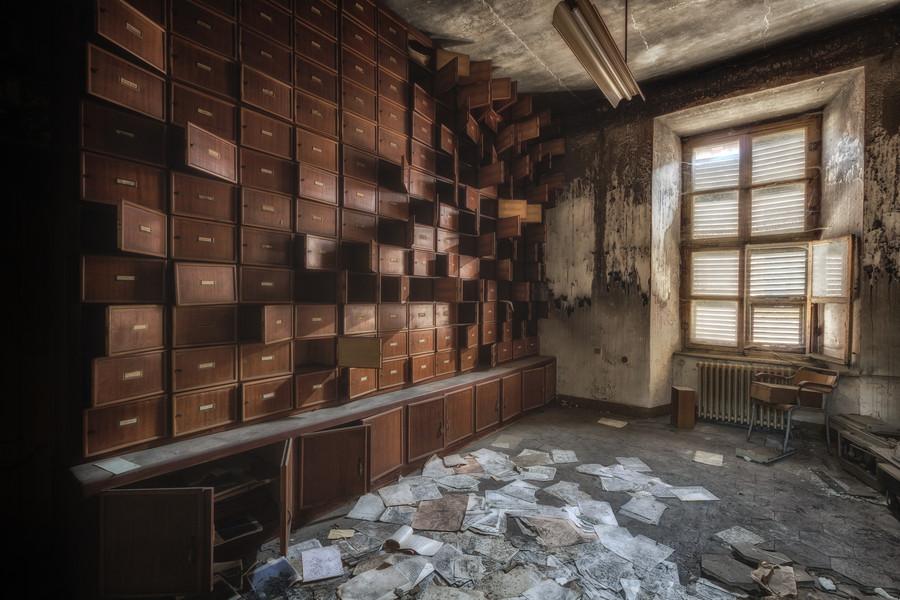 Заброшенные места, от которых мурашки по коже - 30 фотографий - 24